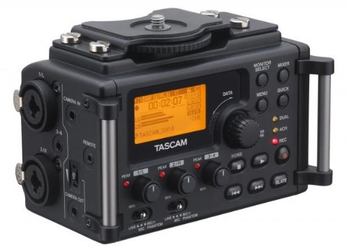 TASCAM DR-60D Linear PCM Recorder for DSLR Filmmaking and Field Recording (Discontinued By Manufacturer) by Tascam