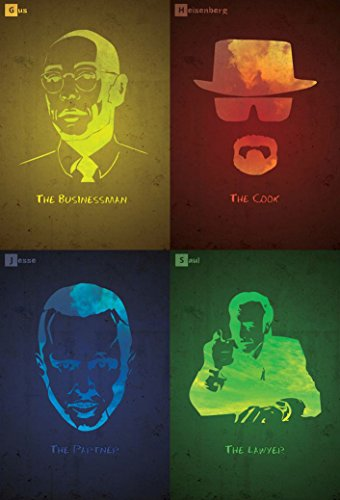 Breaking Bad 3 4 5 6 poster 36 inch x 24 inch