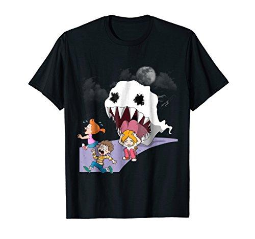 (Kids See Ghost T-shirt Halloween Birthday Women Son)