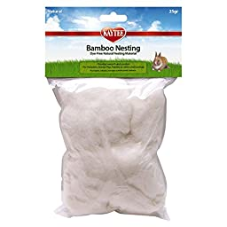 Kaytee Bamboo Nesting Material for Small Animals, 25-Gram Bag