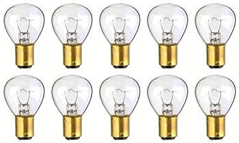 CEC Industries #1144 Bulbs, 12.5 V, 24.8 W, BA15d Base, RP-11 shape (Box of 10)