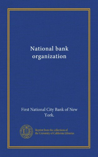 National Bank Organization