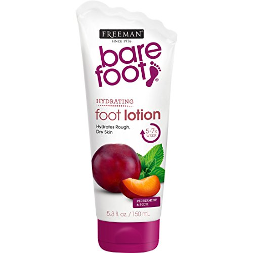 Lotion Peppermint Foot (Freeman Bare Foot Exfoliating Foot Scrub, Peppermint & Plum 5.30 oz )