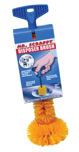 Mr. Scrappy MSB-20 Garbage Disposer Brush, Universal Fit by Mr. Scrappy