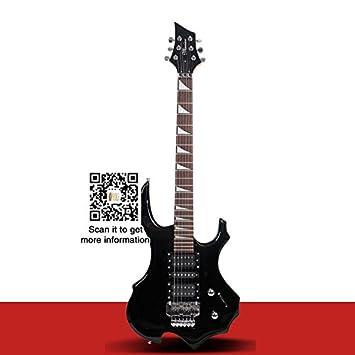 Yoli llama guitarra eléctrica Doble balancín guitarra eléctrica con 24 trastes, 6 cuerdas: Amazon.es: Instrumentos musicales
