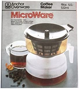 Anchor Ovenware MicroWare - Cafetera para microondas: Amazon.es: Hogar