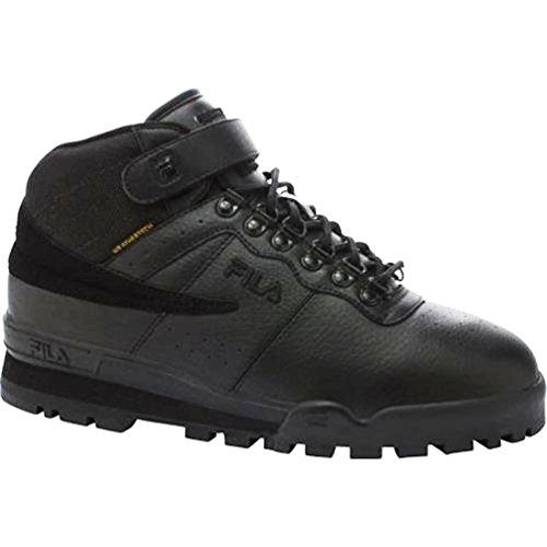 Fila Men's F-013 Weather Black Hiking Sneakers 9 M