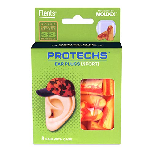 Flents Protechs Sport Ear Plugs (8 Pair)