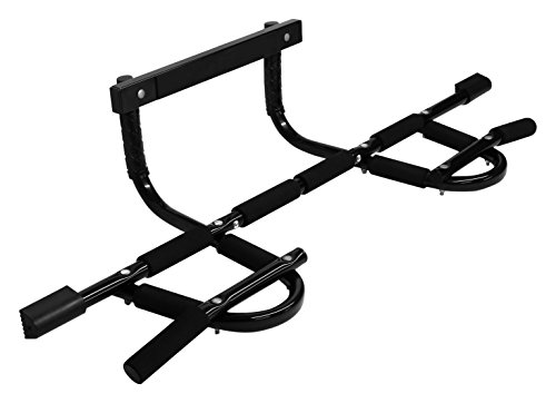 InfiDeals Heavy duty Multi Grip Upper Body Chin Up/Pull Up Bar for Home Gym