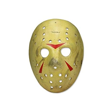 Halloween Hockey Masker.Neca Friday The 13th Prop Replica Jason Mask Part 3