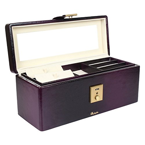 richpiks-purple-jewelry-box-locker-box-with-mirror-and-clasp-lock-standard-christmas-gift