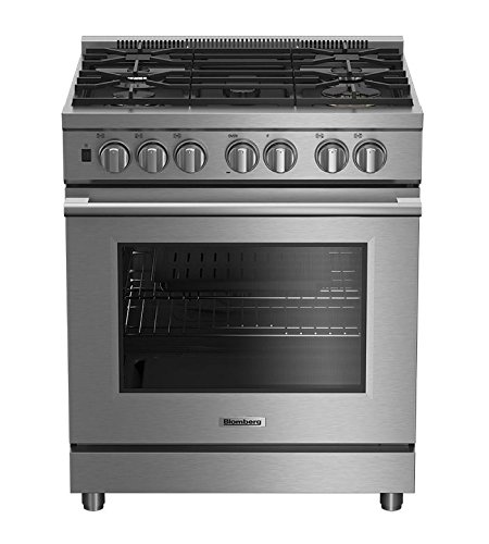 Blomberg BGRP34520SS 30' Pro Gas Range, Stainless Steel Pacific Specialty Brands - Drop Ship