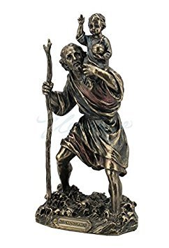 (St. Christopher Statue Sculpture Figure)