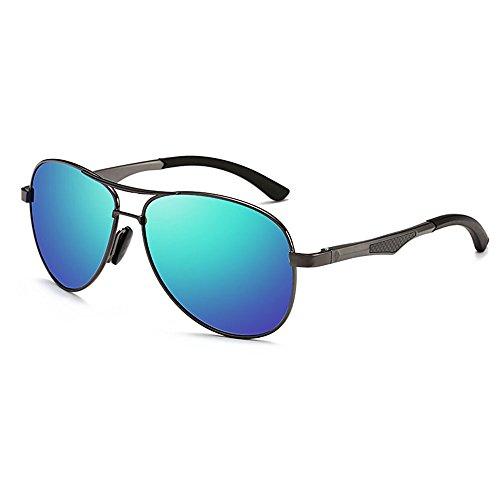 marco hombre Gafas C para conducción para D de de hombres sol ZHANGRONG Color de polarizadas moda UIwvFFdq