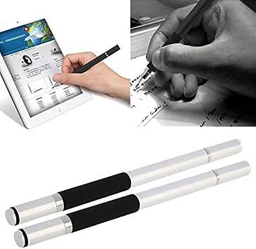 subtel 2X Universal 2in1 Diseño Touch Pen Stylus + Pen para ...