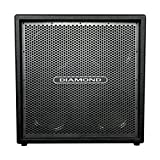 Diamond Amplification CC412SVM Custom 4 X 12 Inches Cabinet - Silver Vein Metal Grill