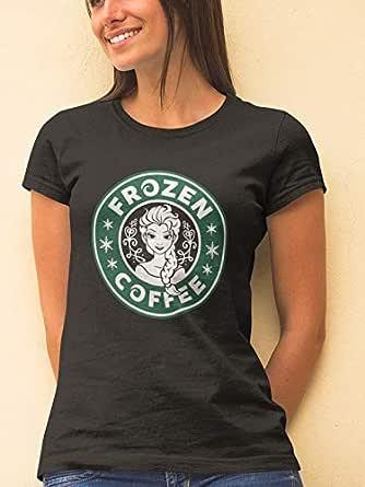 Frozen Coffee T-Shirt for Women