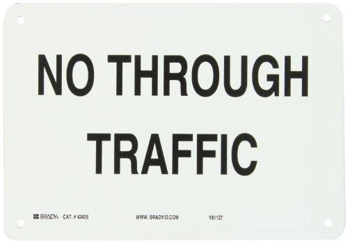 Brady 43435 Aluminum Traffic Sign: Industrial, 7