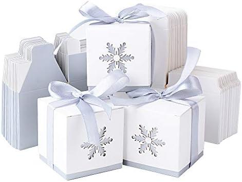 50pcs Cajas Cajitas Papel Caramelos Navidad para Bombones Dulces ...