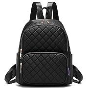 Myhozee Women Backpack Purse Waterproof Nylon Mini Rucksack Lightweight Daypack