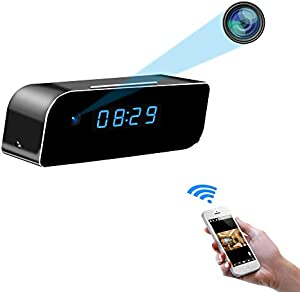 Sweepstakes: Beenwoon WiFi Hidden Camera Clock HD 1080P Home Security…