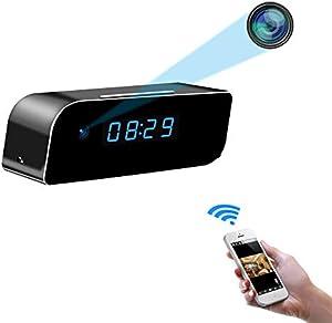 Sweepstakes: Beenwoon WiFi Hidden Camera Clock HD 1080P Home Security…