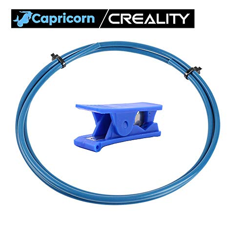Creality Capricorn Bowden PTFE Tubing Tube Cutter XS Series 1 Meters 1 75MM  Filament for Ender 3 Ender 3 Pro, Ender 5, CR-10,CR-10S 3D Printer
