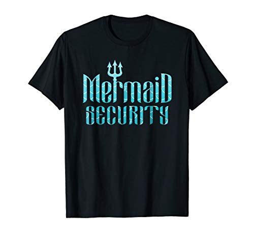 Merman Mermaid Security T-Shirt ()
