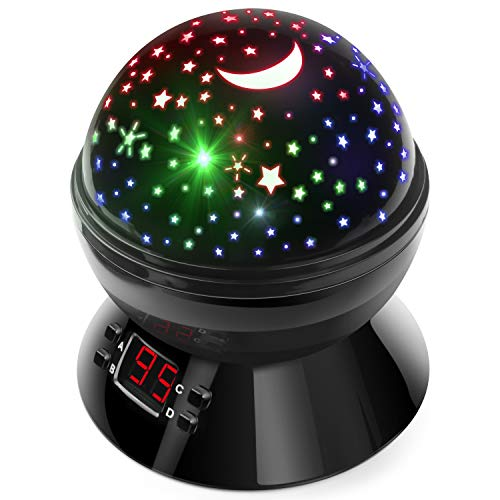 Night Lights Multicolor Projector Timer product image