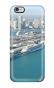 6 Scratch-proof Protection Case Cover For Iphone/ Hot Long Beach Phone Case