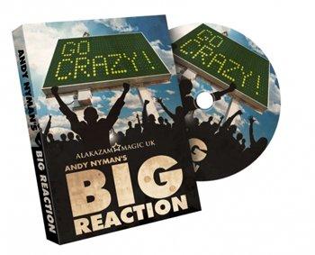 Big Reaction (DVD and Gimmicks) by Andy Nyman & Alakazam - Tricks