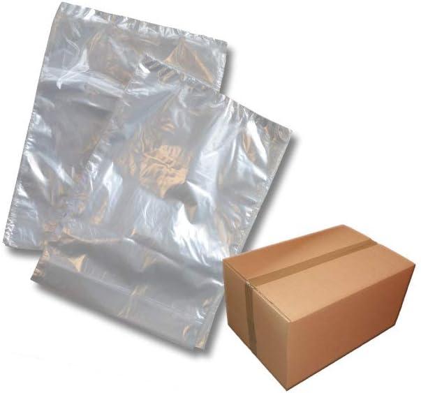 1 caja=2000 unidades. Bolsas de plástico transparentes de 300 x 450 mm, 25 μ, de polietileno, aptas para alimentos, del fabricante e importador: Amazon.es: Oficina y papelería