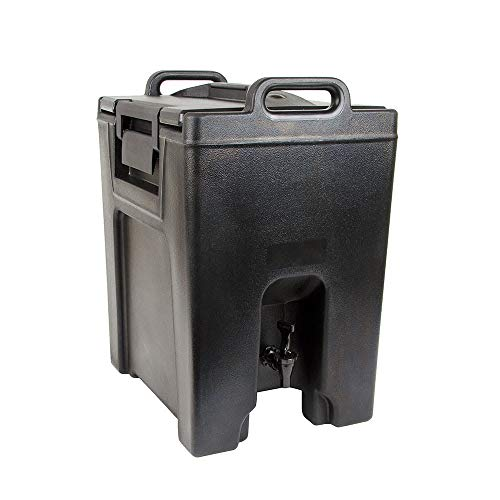 - Cambro UC1000110 10-1/2-gal Ultra Camtainer Beverage Carrier - Insulated, Black