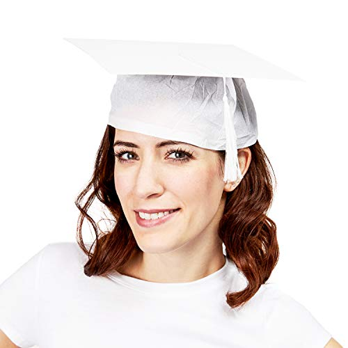 white graduation cap - 9