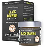 Puremedy Drawing Draw Out Ointment for Removing Splinters, Other Debris from Skin (1oz)