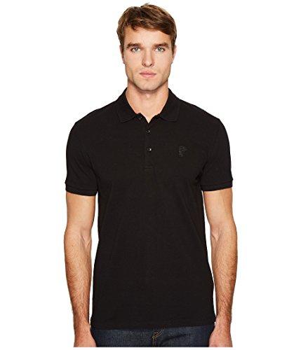 Versace Collection  Men's Logo Polo Black - Polo Us Original Logo