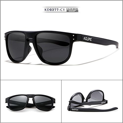 dc115991ae8 Amazon.com  KDEAM 5 Color Men TR90 Sport Polarized Sunglasses Outdoor  Driving Glasses New (C1)  Clothing