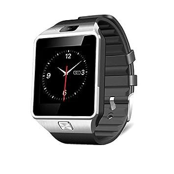 MallTEK Smartwatch Android de 1.56 Pulgadas con Ranura para Tarjetas Micro SIM / TF, Reloj Inteligente Multifuncional y Multilingüe con BT ...
