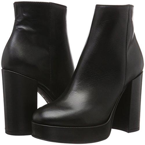 Lea FOSCATI Wengen, Zapatillas de Estar por Casa para Mujer, Negro, 38 EU