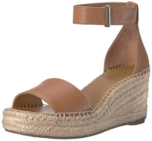 (Franco Sarto Women's Clemens Espadrille Wedge Sandal, tan, 10 M US)