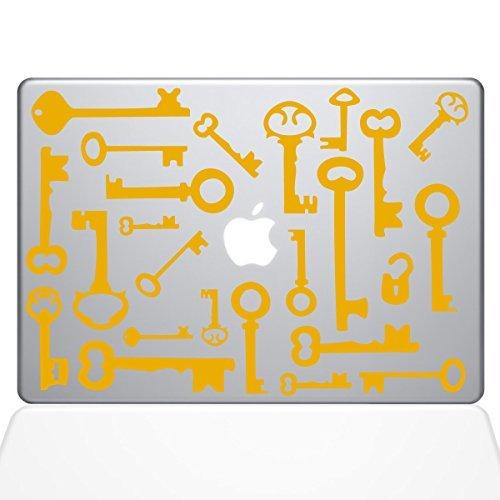 日本最級 The Decal Pro Guru Skeleton Keys (2016 Macbook The Decal Vinyl Sticker - 15 Macbook Pro (2016 & newer) - Yellow (1266-MAC-15X-SY) [並行輸入品] B078FBP8H3, ブランドショップ リバース:14c04c71 --- a0267596.xsph.ru