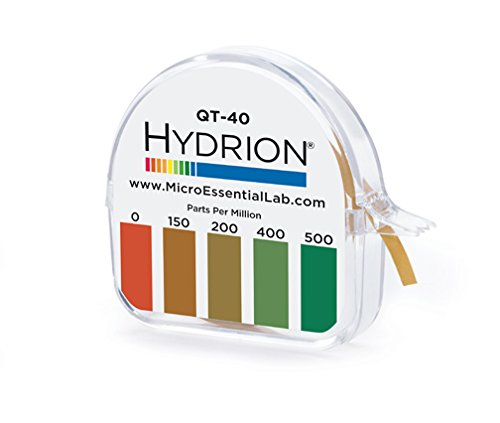hydrion-qt-40-sanitizer-test-15-ft-roll-with-color-chart