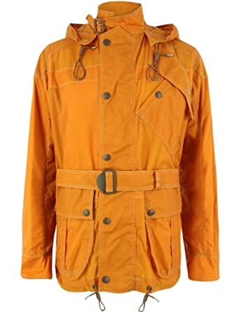 a3779a975e3c Nigel Cabourn Orange Sand Surface Jacket XL  Amazon.co.uk  Clothing
