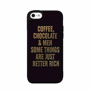 diy phone caseChocolate Coffee and Men Plastic Phone Case Back Cover ipod touch 5diy phone case
