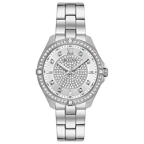 Bulova Women's 96L236 Analog Display Quartz Silver Watch