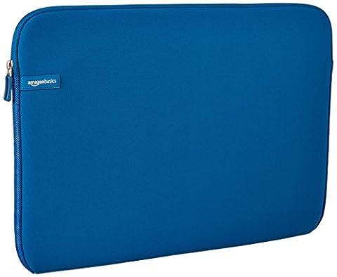 AmazonBasics 17.3-Inch Laptop Sleeve - Blue (Blue Laptop 17)