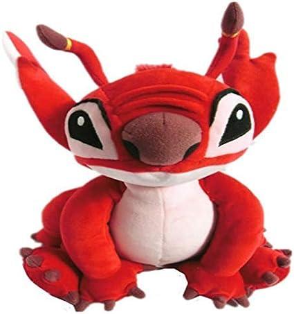 danyangshop Juguetes De Peluche Experimento Leroy Red Alien Plush Toy 30Cm 12 '' Cute Stuffed Animals Peluches para Niños Regalos para Niños