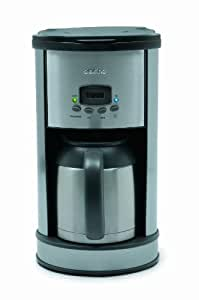 Delfino Coffee Maker Replacement Carafe : Amazon.com: Delfino DLFC700 8-Cup Thermal Carafe Programmable Coffee Maker, Stainless Steel ...