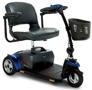 Pride Go-Go Elite Traveller Plus HD 3-Wheel Travel Mobility (3 Wheel Travel Scooter)