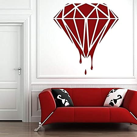 wukongsun Hot Blood Diamond Applique Art Pegatinas de Pared ...